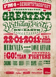 Karten fürs FM4 Geburtstagsfest gewinnen!