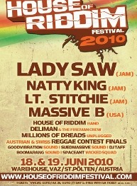 House of Riddim Festival 2010