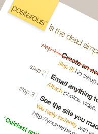 Posterous.com – bloggen via Email