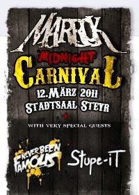 Midnight Carneval – Die offizielle MARROK Albumrelease Show