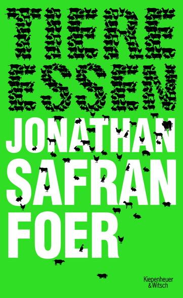 Buchcover Tiere essen von Jonathan Safran Foer