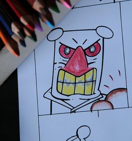 Eine Geschichte mit bunten Bildern: Das Next Comic Festival 2012