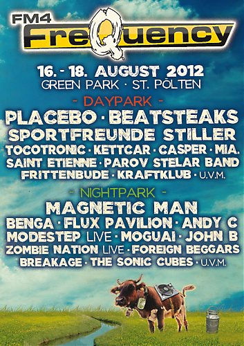 Coming up: FM4 Frequency 2012