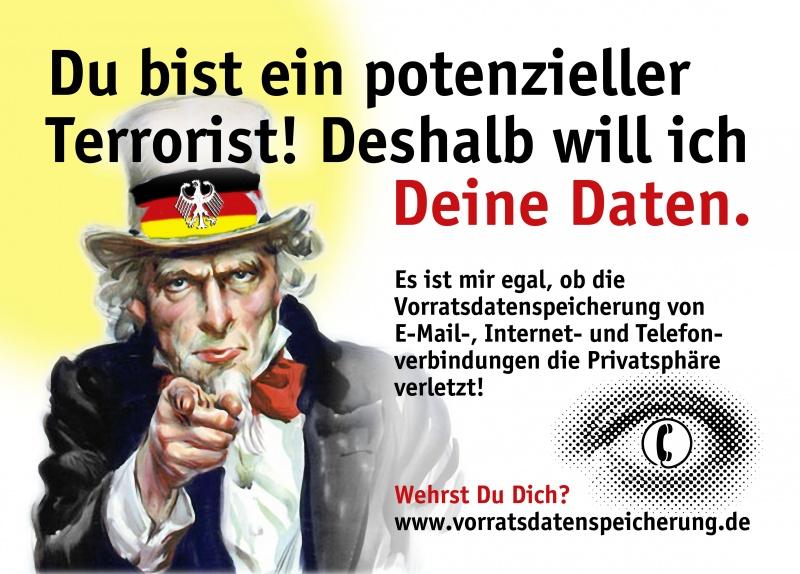 Plakat der BürgerInneninitiative