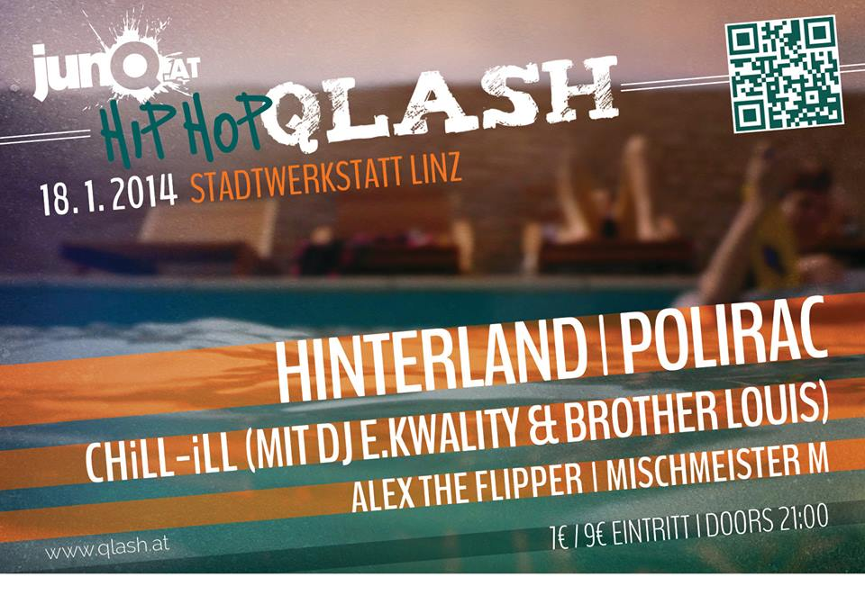 HipHop Qlash Flyer