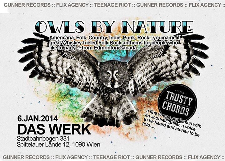 Upcoming: OWLS BY NATURE @ Das WERK Wien