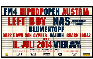 Upcoming: FM4 Hip-Hop-Open