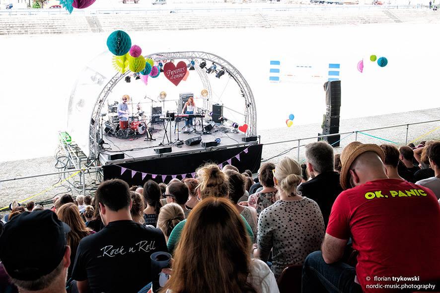 Kleine Bühne, große Acts - Parcours d' amour