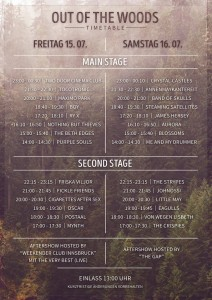 timetable_outofthewoods