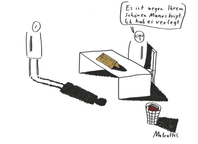Matrattel - Verleger