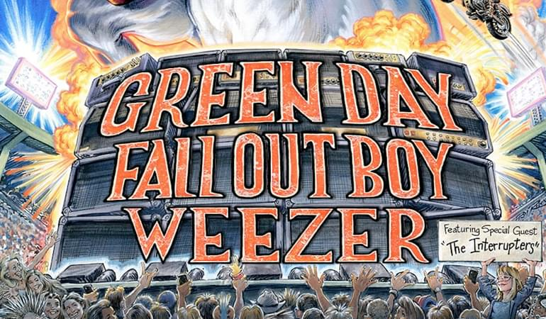 Upcoming: The Hella Mega Tour // Green Day, Fall Out Boy & Weezer